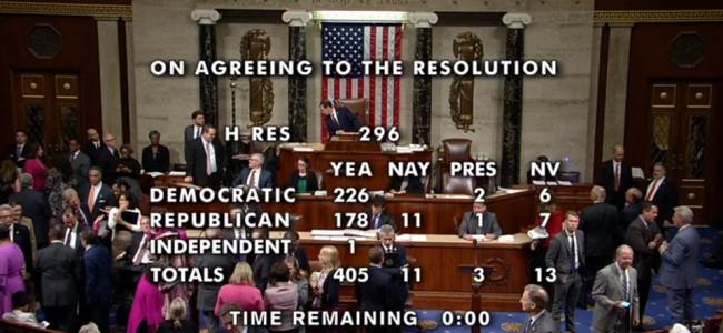 SUA / Camera Reprezentanților recunoaște Genocidul Armean