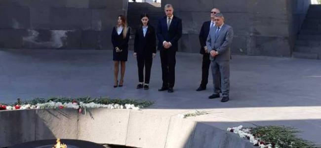 Vizită regală în Republica Armenia