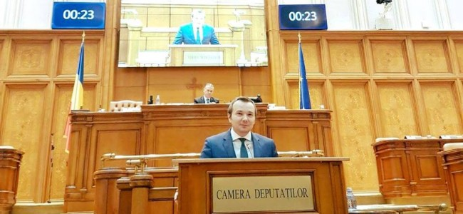 PARLAMENTUL ROMÂNIEI / Cuvântul deputatului Andrei  Daniel  Gheorghe (PNL) …