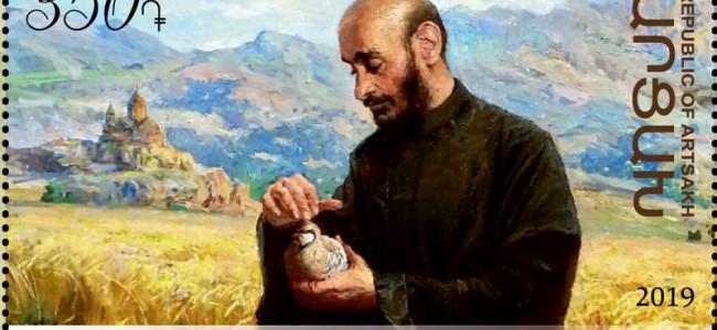 FILATELIE / Arțakh Post a onorat cei 150 de ani de la nașterea părintelui Komitas