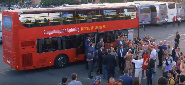 VIDEO: Să descoperim Erevanul alături de Prim-ministrul Nikol Pashinyan
