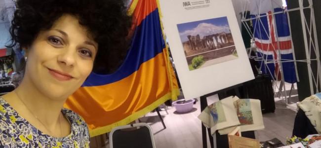 Armeanca Martaian Ermone Zabel  din nou în prim plan la un mare târg  bucureştean