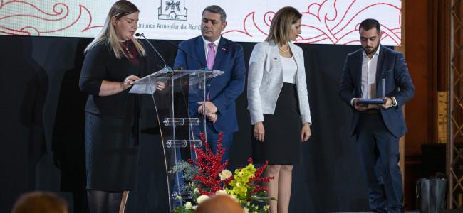 Medalii pentru reprezentanți ai U.A.R. din partea Armeniei