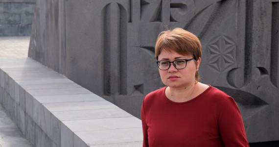 """""""Genocidul armean trebuie recunoscut pentru a preveni și a diminua răul din această lume""""  spune LIDIA  PRISAC, dr. în istorie, beneficiara bursei   Raphael Lemkin pe anul  2019"""