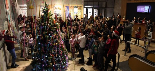 """EREVAN / """"Miracolul Anului Nou și al Crăciunului"""" –   Programul creativ pentru copii de la Centrul Cafesjian pentru Arte (CCA) cu sprijinul  Beeline"""
