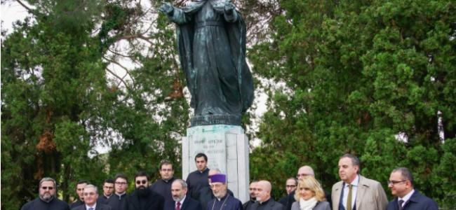"VENEȚIA / Vizita prim-ministrului armean Nikol Pashinyan pe Insula ""San Lazzaro"" a armenilor"