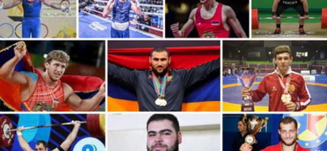 ARMENIA / Primii zece sportivi în 2019