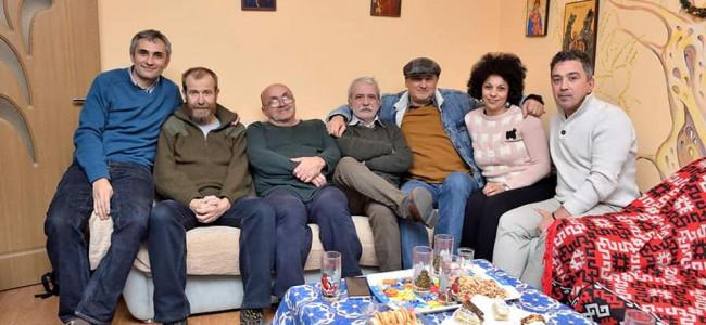 Pictoriţa armeancă Martaian Ermone Zabel în vizită la Gherla
