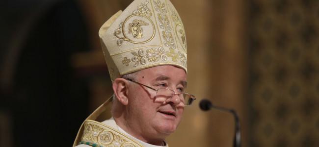 Monseniorul Aurel Percă, înscăunat  Arhiepiscop Mitropolit de București