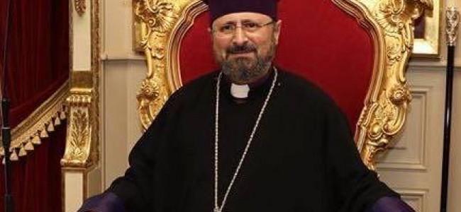 Mesaj de felicitare cu ocazia alegerii Noului Patriarh al Armenilor din Constantinopol