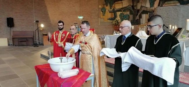 OLANDA / Sărbătoarea Nașterii și Botezului Domnului în comunitatea armeană din Arnhem
