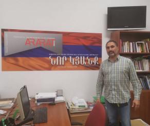 """INTERVIU / """"Vrem să aduceți în Armenia nu cunoașterea limbii armene, ci suflet, energie, minte deschisă, voință de a învăța"""",  spune directorul fondator al """"Birthright Armenia"""", Sevan Kabakian"""