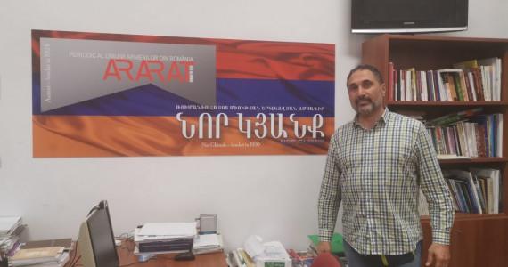 """""""Vrem să aduceți în Armenia nu cunoașterea limbii armene, ci suflet, energie, minte deschisă, voință de a învăța"""",  spune directorul fondator al """"Birthright Armenia"""", Sevan Kabakian"""