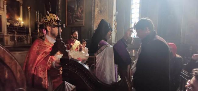 CREDINȚĂ / La Catedrala Armeană din București, cu mare fast s-au sărbătorit Întâmpinarea Domnului și Sf. Sarkis