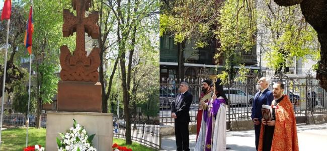 Au răsunat clopotele bisericilor Eparhiei Armene din România pe 23 și 24 aprilie
