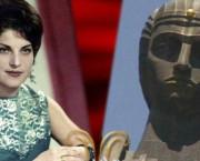 Gena Muradyan (78 de ani) a fost modelul pentru statuia uriașă a Maicii Armenia (Mayr Hayastan) care se află în Erevan