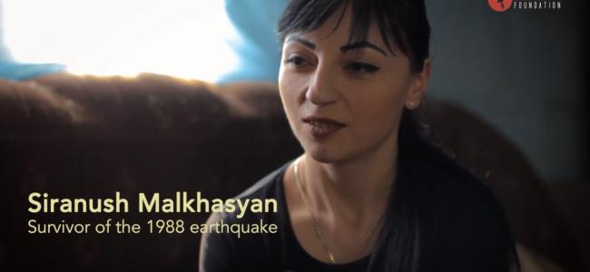 FUNDAȚIA  AZNAVOUR / O casă nouă pentru numeroasa familie Malkhasyan