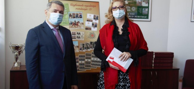 ROMFILATELIA a primit vizita E.S. Sergey Minasyan, AMBASADORUL Republicii Armenia în România