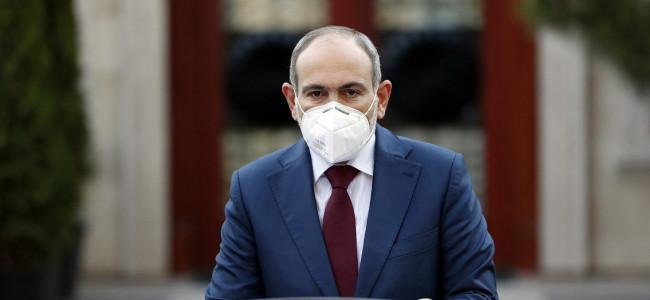 """ARMENIA / Nikol Pashinyan :  """"Coronavirusul se răspândește și prin intermediul curților clădirilor rezidențiale"""""""
