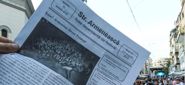 Despre Festivalul Strada Armenească cu bucurie și nostalgie…