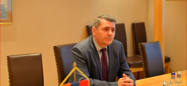 Gazetadecluj.ro / Ambasadorul Armeniei în România, Sergey Minasyan: Intențiile agresive ale Azerbaidjanului sunt direcționate împotriva armenilor și bunurilor lor din întreaga lume