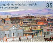 FILATELIE / În cadrul competiției paneuropene un timbru armean este în top 5
