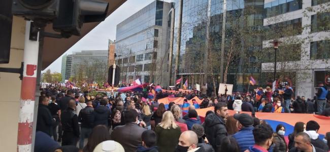 EDWARD KANTERIAN / Arțahul și diaspora: Impresii de la Bruxelles