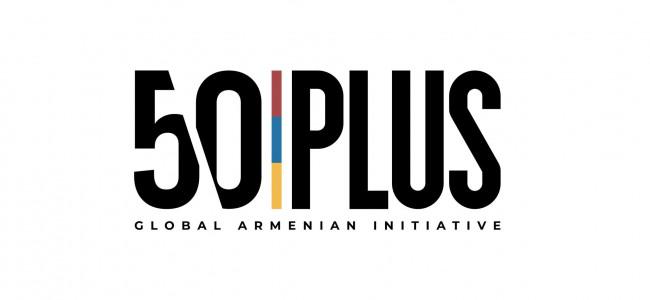 """COMUNICAT DE PRESA / Inițiativa """"50 PLUS"""", declanșată de diferite comunități din Diaspora mobilizează componentele FONDULUI ARMENIA în activitatea de distribuire a resurselor"""