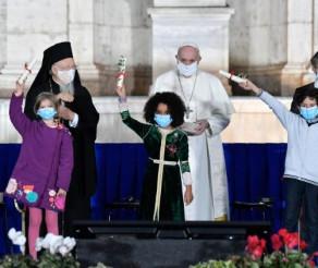 """Liderii religiilor reuniți la Roma, în """"Apelul la pace"""": O lume fără război și violență nu este o utopie"""
