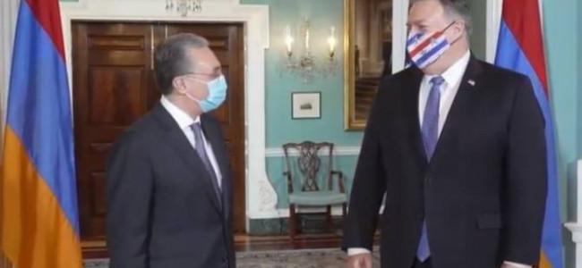 SUA / Zohrab Mnatsakanyan s-a întâlnit cu secretarul de stat al SUA, Mike Pompeo