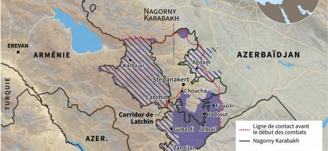 Lista localităților din Arțakh cedate Azerbaidjanului