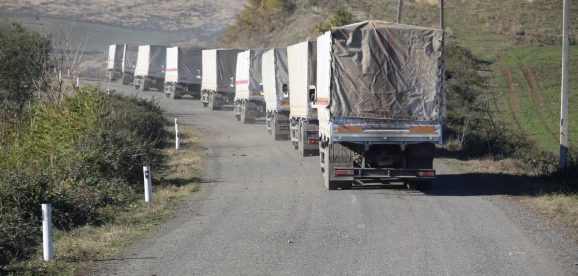 RUSIA va livra 300 de tone de materiale de construcție către Stepanakert și Șuși