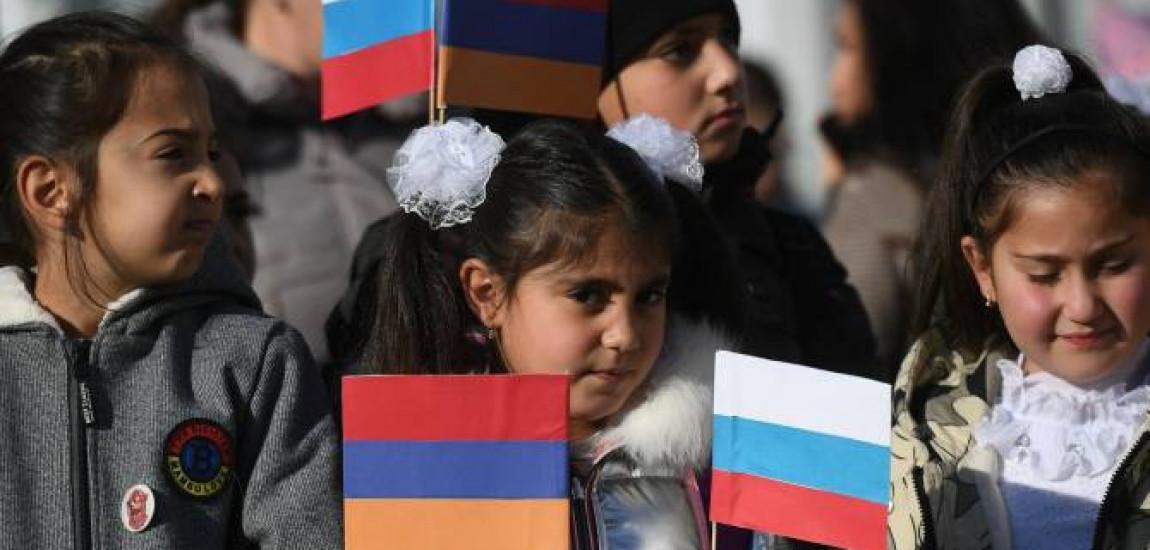 """ARȚAKH / Școala """"Așot Ghulyan"""" din Stepanakert și-a reluat activitatea cu 400 de elevi, dintre care unii provin din Șuși și Hadrut"""