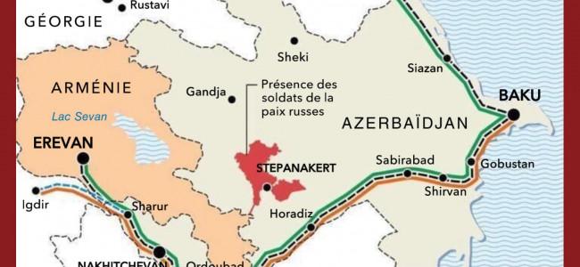 Cotidianul rus Kommersant publică harta coridoarelor de transport între Armenia și Azerbaidjan