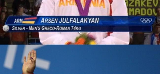 Argint și bronz pentru Armenia la Jocurile Olimpice de la Londra!
