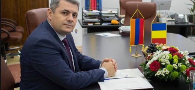 INTERVIU / La început de an, E.S. domnul Sergey Minasyan, Ambasador Extraordinar și Plenipotențiar  al Republicii Armenia în România, face bilanțul anului care a trecut și vorbește de perspectivele pentru 2020