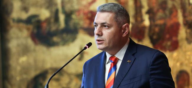 INTERVIU acordat revistei ARARAT de E.S. domnul SERGEY MINASYAN Ambasador Extraordinar și Plenipotențiar  al  Republicii Armenia în România