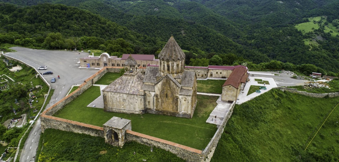 COMORILE DIN ARȚAKH: Mănăstirea GANDZASAR