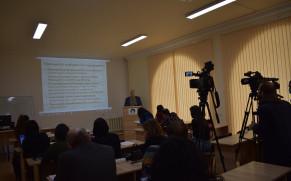 ARMENIA /  Conferință de Presă cu ocazia aniversării a 75 de ani de la crearea  Observatorului Astronomic de la Byurakan