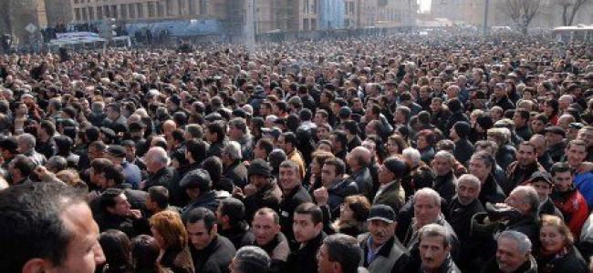 ARMENIA – SONDAJ DE OPINIE