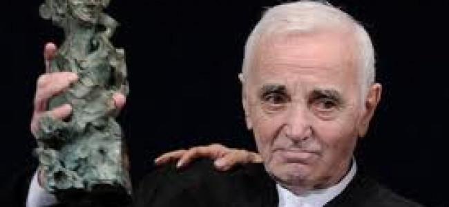 Charles Aznavour a primit premiul Scopus 2011 al Universităţii din Ierusalim