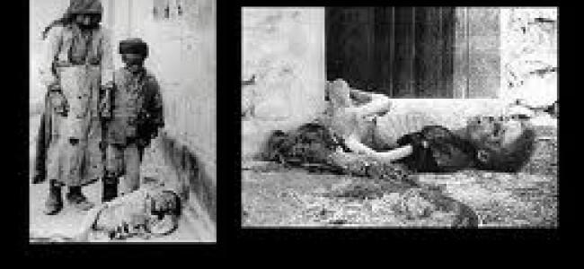 GENOCIDUL ARMENILOR  (IMPERIUL OTOMAN 1915-1918)