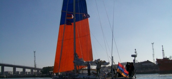 O corabie armenească pe oceanele lumii