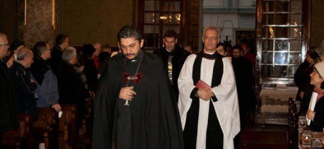Săptămîna de Rugăciune pentru Unitatea Creștină –  Slujba de la Catedrala Armeană din București