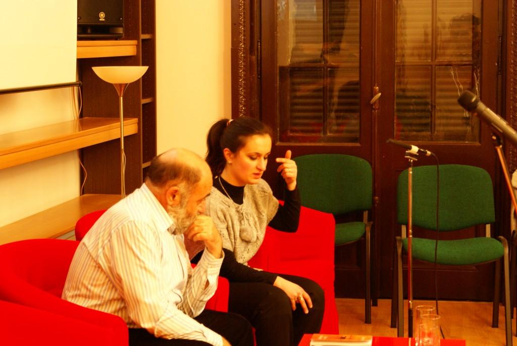 Bedros Horasangian si Cristina Rakedjian