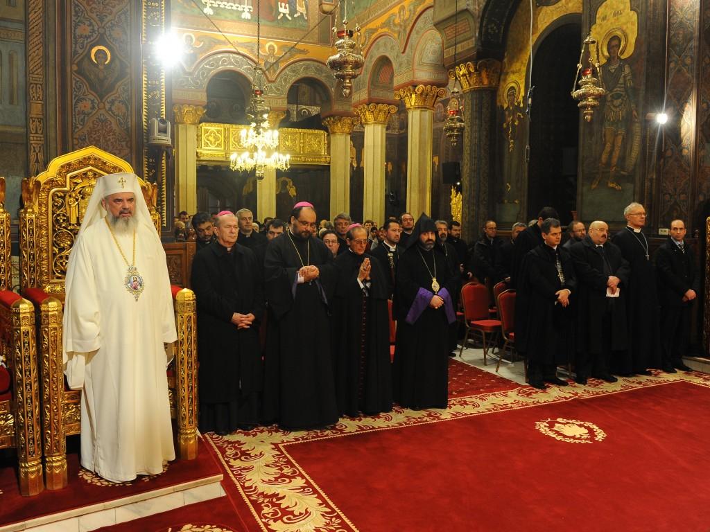 În Catedrala Patriarhală din București