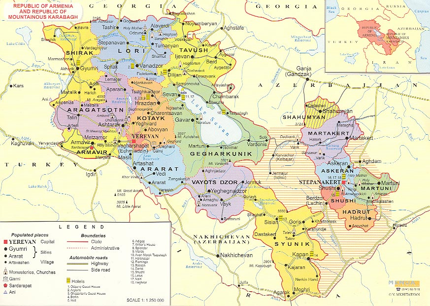 detailed_administrative_map_of_armenia