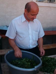 Dr. Ioan Foit, presedintele Filialei Suceava a Uniunii Armenilor din Romania