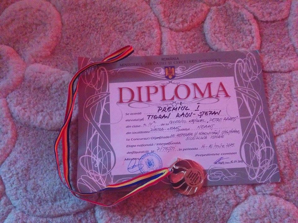 diploma Tigran