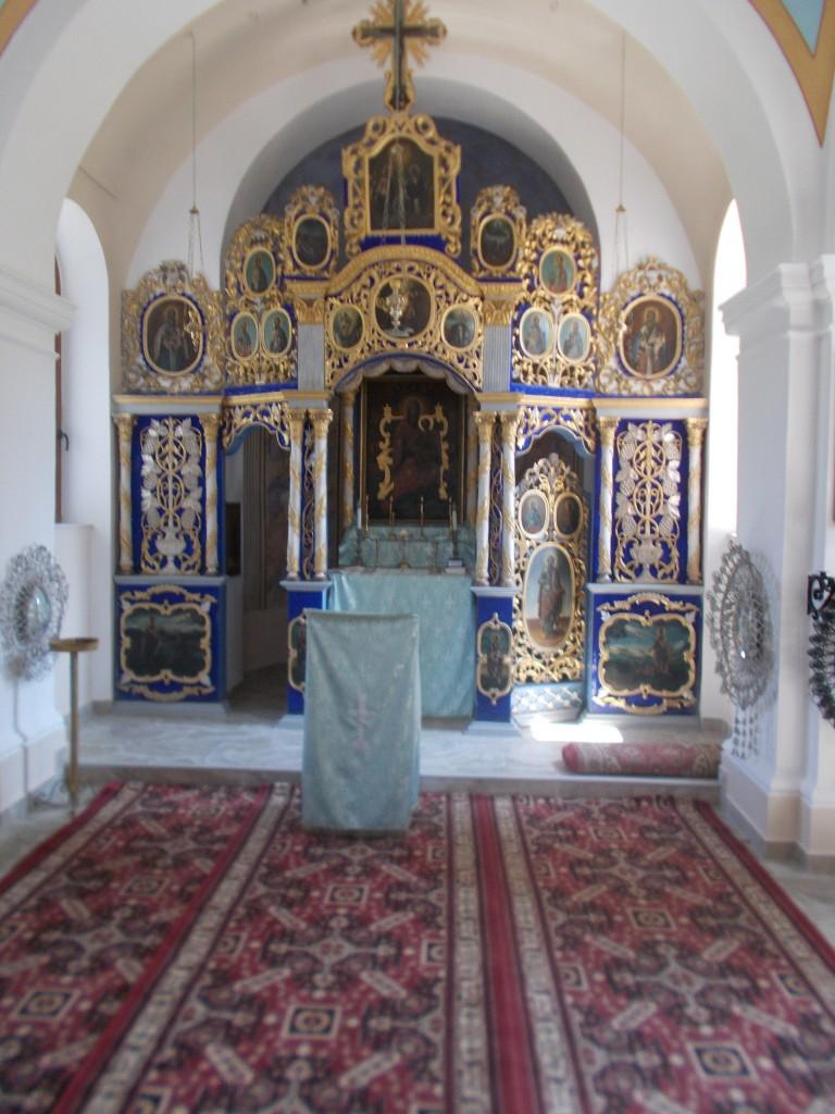 4. Buna Vestire, interiorul bisericii dupa restaurare